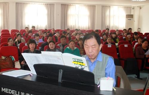 10月21日文艺志愿艺术家 中国音乐家协会创作委员会副主任、国家一级作曲家龚耀年